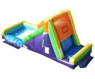 Rock-Climb-Slide Combo Rental