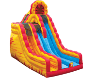 Fire n Ice Dual Lane Dry Slide Rental