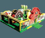 My Little Farm Moonbounce Combo Rental