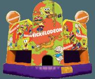 Nick Toons Moon Bounce Rental