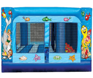 Under the Sea 2-n-1 Moon Bounce Combo W/ Ball Pond Rental