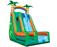 27′ Tropical Dual Lane Slide Rental