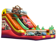 Cars Dual Lane Slide Rental