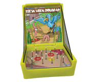 Earth Worm Round-up Toss Game Rental
