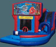 Finding Nemo Jump-n-Splash Water Slide Combo w/ Pool Rental