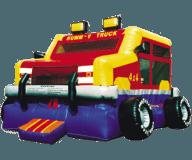 Monster Wheels Moon Bounce Rental