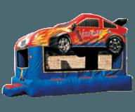 Race Car Moon Bounce Rental