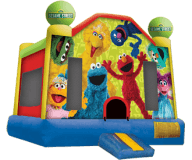 Sesame Street Moon Bounce