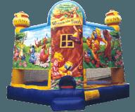 Winnie the Pooh Moon Bounce Rental