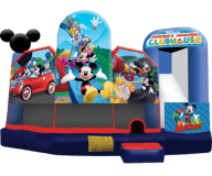 Mickey Mouse Clubhouse 5-n-1 Inflatable Activity Center Rental