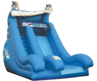 18′ Dolphin Wave Slide Rental