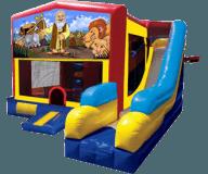 Noah's Ark  5-N-1 Moonbounce Obstacle Combo Rental
