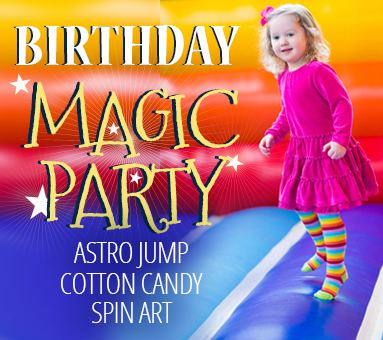 Birthday Magic Party Package